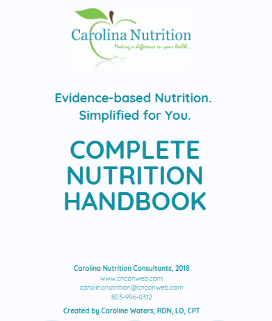 The Complete Nutrition Handbook