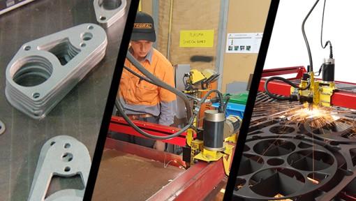 CNC Cut Tri Images
