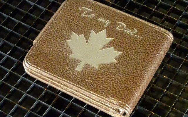 leatherwaller-2 Laser Engraving Genuine Leather Wallets