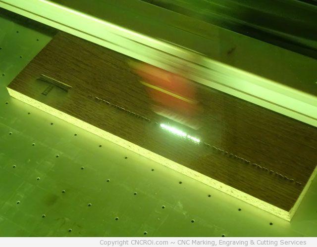 cnc-laser-presswood-7 CNC Laser Engraving 3/4 inch Presswood Laminate