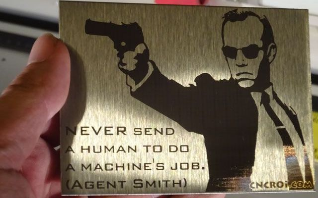 agent-smith-7 Never send a human to do a machine's job.