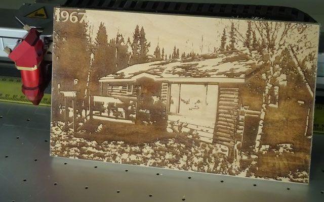 cnc-laser-cottage-4 CNC Laser Engraving a Wooden Cottage on Wood