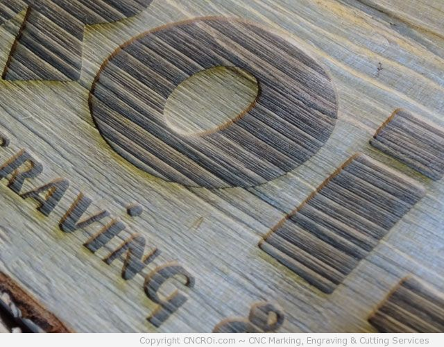 laser-engrave-wood-log-1 CNC Laser Engraving A Wooden Log