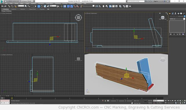 sample-1 CNCROi.com Custom Sample Holder: Part 1 of 2 ~ Design