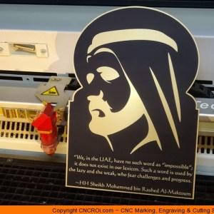 cnc-laser-custom-plaque-x2 Acrylic & Laminate Plaques