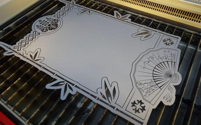 custom-cnc-mirror-x6 CNC Laser Engraving & Cutting A Custom Paint Filled Mirror