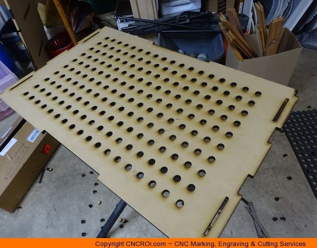 Custom Designed Cnc Laser Cut Downdraft Table