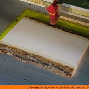 custom-wood-plaque-1 Wooden Live Edge Plaque