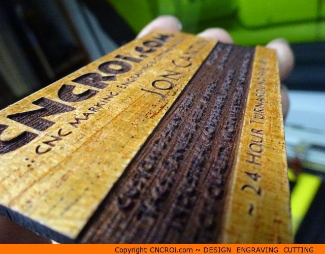 Wood veneer business cards 20 pack custom veneer business x2 wood veneer business cards 20 pack reheart Gallery