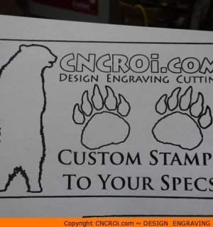 custom-trodat-5212-xx2 Bear Standing Shape (0001)