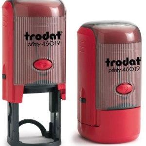"trodat-46019e Trodat Original Printy 46019 Custom Self-Inking Stamp (19 mm or 3/4"" round)"