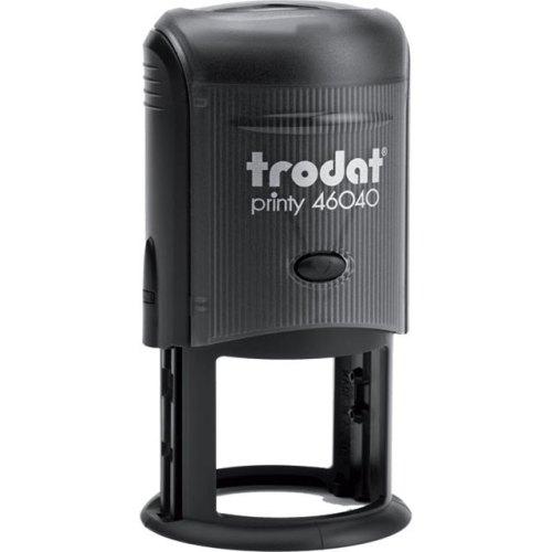 "trodat-46040 Trodat Original Printy 46040 Custom Self-Inking Stamp (40 mm or 1-5/8"" round)"