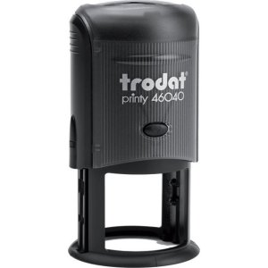 "trodat-46040 Trodat Original Printy 46040 Custom Self-Inking Stamp (40 mm or 1-5/8"" round)"