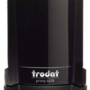 "trodat-4638c Trodat Original Printy 4638 Custom Self-Inking Stamp (38 mm or 1-1/2"" round)"