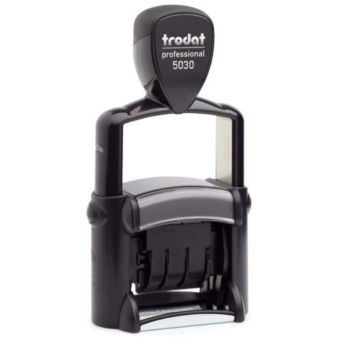 """trodat-5030 Trodat Professional 5030 Custom Self-Inking Stamp (4 mm or 0.15"""" high DATE ONLY)"""