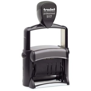 trodat-5117 Trodat Professional 5117 Custom Self-Inking Stamp (dial-a-phrase with 4 mm or 0.15″ high date)