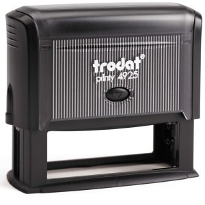 "trodat-printy-4925 Trodat Original Printy 4925 Custom Self-Inking Stamp (25 x 82 mm or 1 x 3-1/4"")"