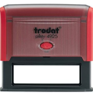 "trodat-printy-4925d Trodat Original Printy 4925 Custom Self-Inking Stamp (25 x 82 mm or 1 x 3-1/4"")"