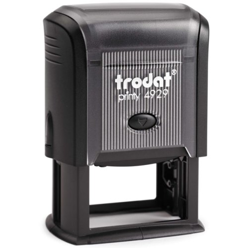 "trodat-printy-4929 Trodat Original Printy 4929 Custom Self-Inking Stamp (30 x 50 mm or 1-3/16 x 2"")"