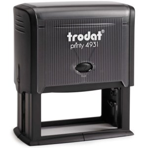 "trodat-printy-4931-1 Trodat Original Printy 4931 Custom Self-Inking Stamp (30 x 70 mm or 1-3/16 x 2-3/4"")"