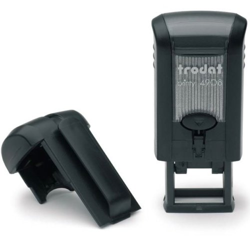 "trodat-printy-original-4908-1 Trodat Original Printy 4908 Custom Self-Inking Stamp (7 x 15 mm or 0.3 x 0.6"")"