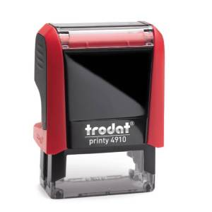 "trodat-printy-original-4910-2 Trodat Original Printy 4910 Custom Self-Inking Stamp (9 x 26 mm or 3/8 x 1-1/32"")"