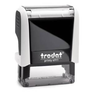 "trodat-printy-original-4911e Trodat Original Printy 4911 Custom Self-Inking Stamp (14 x 38 mm or 9/16 x 1-1/2"")"