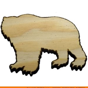 0002-bear-grizzly-b Bear Grizzly Shape (0002)