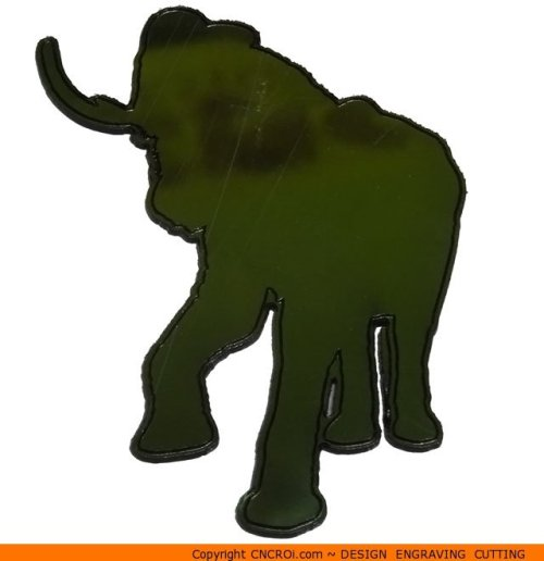 0047 Elephant Attack Shape (0047)
