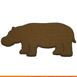 0058-hippo Hippo Shape (0058)
