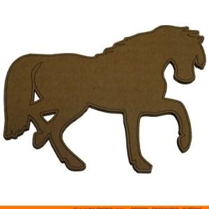 0060-horse-prancing Horse Prancing Shape (0060)