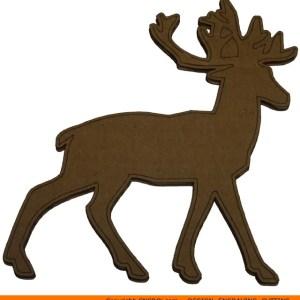 0065-deer-panache Deer Panache Shape (0065)