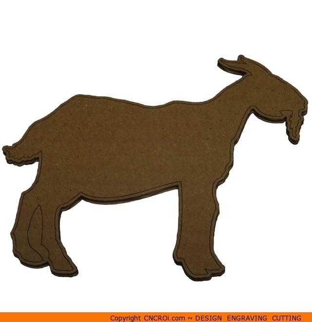 Goat Shape (0066) -