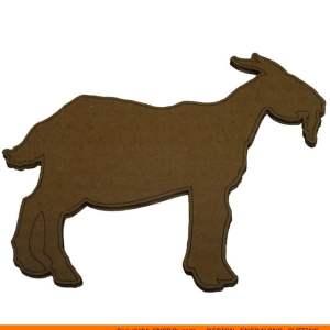 0066-goat Goat Shape (0066)