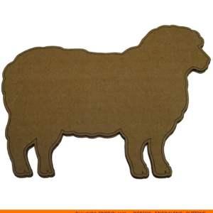 0071-sheep Sheep Shape (0071)