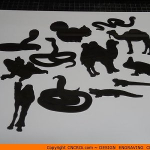 animal-shape-x9-1 Squirrel Shape (0040)
