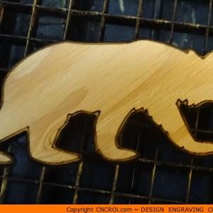 custom-silhouette-x9 Bear Running Shape (0005)