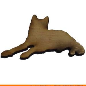 0086-dog-resting Dog Resting Shape (0086)