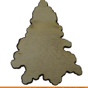 0126-tree-conifer-shapedb Shaped Conifer Shape (0126)