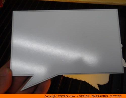 0131-callout-square Rectangular Callout Shape (0131)