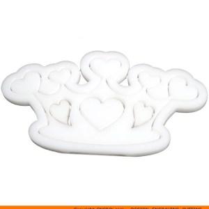 0133-heart-crown Heart Crown Shape (0133)