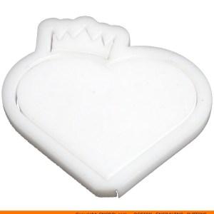 0134-heart-crown-hallowb Hollow Heart Crown Shape (0134)