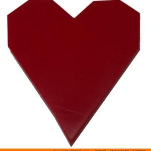 0135-heart-angular Angular Heart Shape (0135)