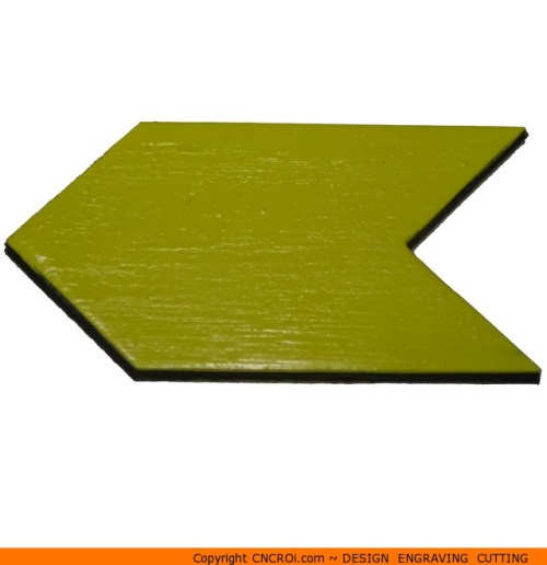 121-arrowedc Thick Solid Pointy Start Arrow Shape (0121)