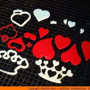 custom-hearts-x3 Pointy Heart Shape (0136)