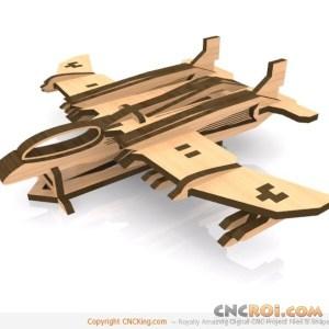 cnc-laser-plane-ruskstraf Rusk Straf Dual-Ramjet Stealth Plane