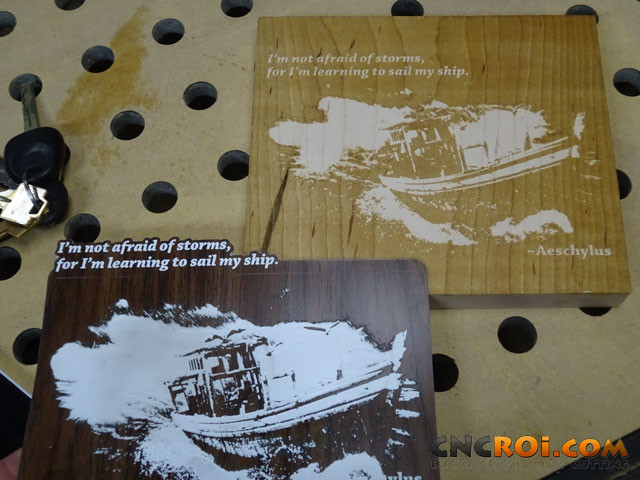 lamacoids-vs-wood-1 Wood Lamacoid Engraving Imagery Options Review