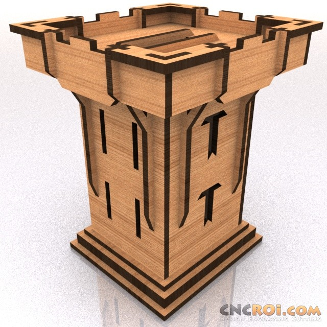 medieval-tower-bank-model-kit-1 Flat Rate Pricing