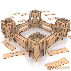 rusk-fortress-model-laser-kit-1 Rusk Fortress
