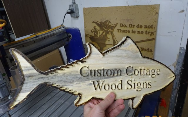 cottage-wood-sign-xxx1 Custom Cottage Wood Sign